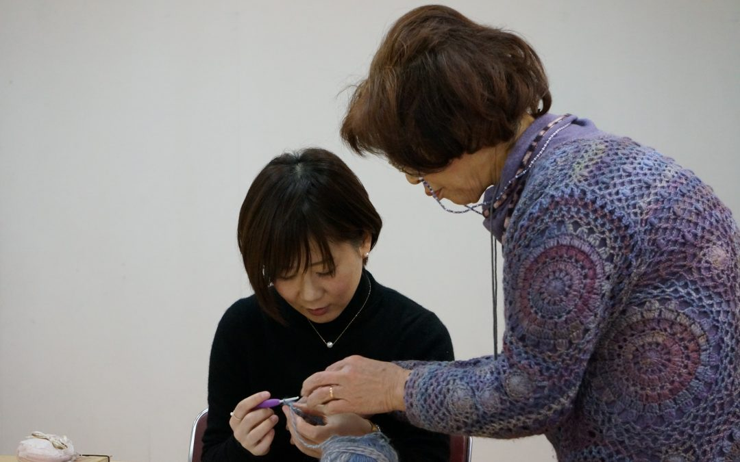 【第9回編み物教室開催 in 堺市】