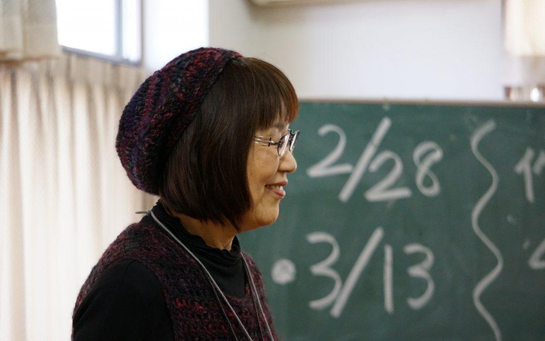【第10回編み物教室開催 & 楽しいお茶会】