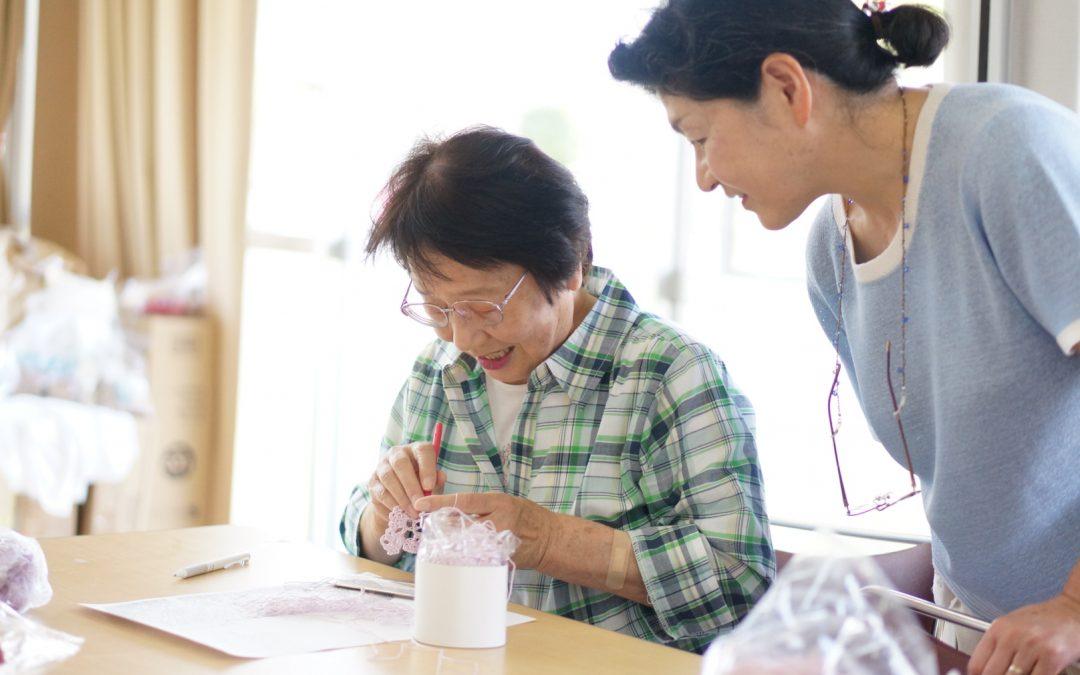 【第27回 編み物教室開催 2017/6/4 】