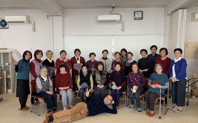 【第42回 編み物教室開催 2018/12/9 】