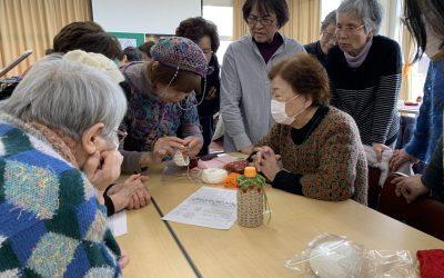 【第44回 編み物教室開催 2019/2/10 】